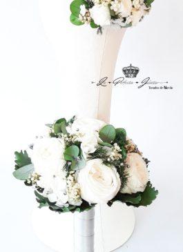 ramo de flor liofilizada