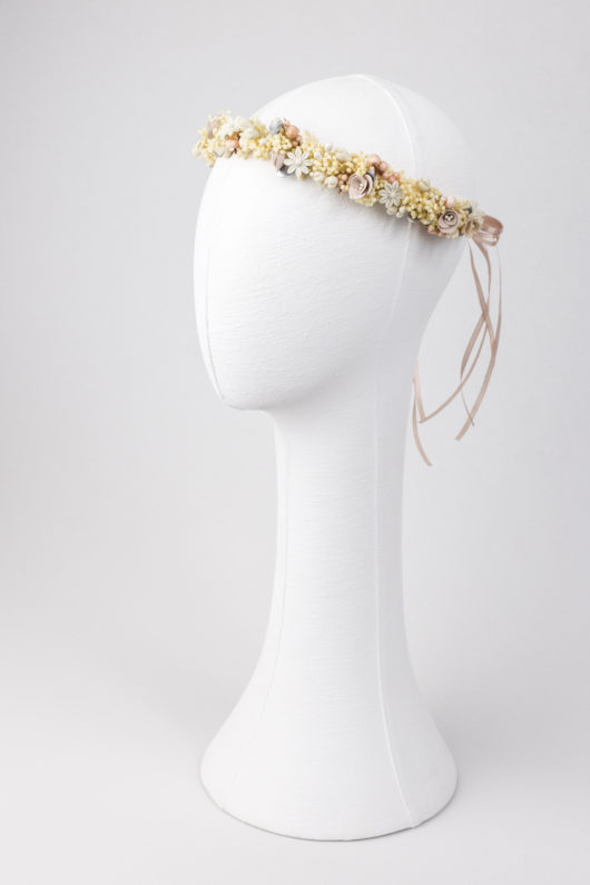 corona de porcelana y paniculata