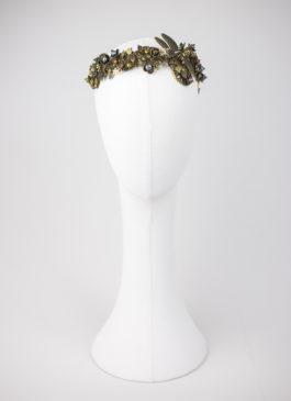 corona de novia insectos