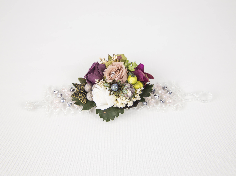 ccc1313408d0 Pulsera con Flor Preservada – La Perfecta Julieta