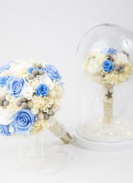 replica de ramo de novia