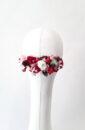 tocado de novia en flor preservada