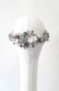 corona metálica novia