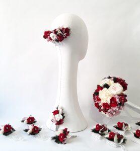 ramo de novia y complementos