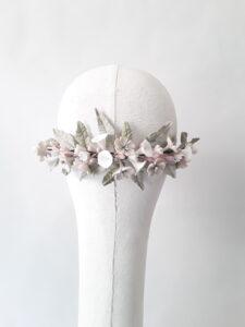 corona de porcelana de novia