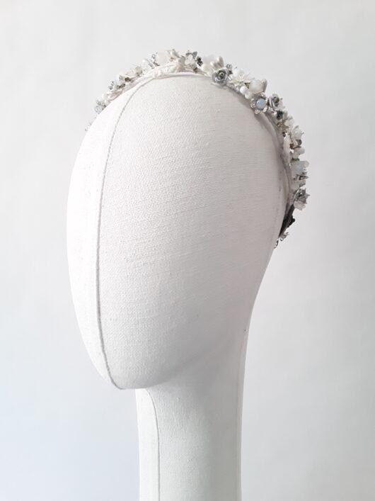 corona de metal y porcelana