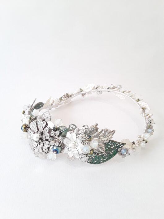 corona de novia metal corona meta