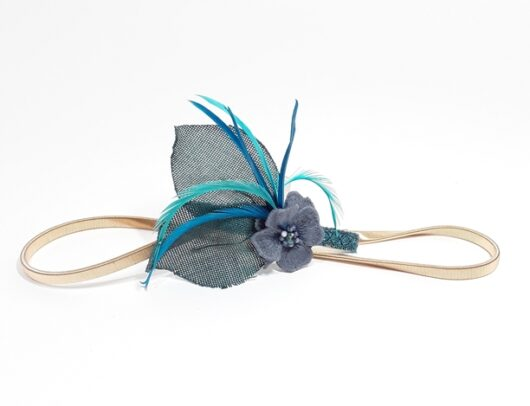 cinturón invitada azul